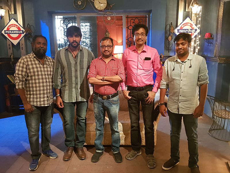 Arav's next with director Saran for Market Raja MBBS