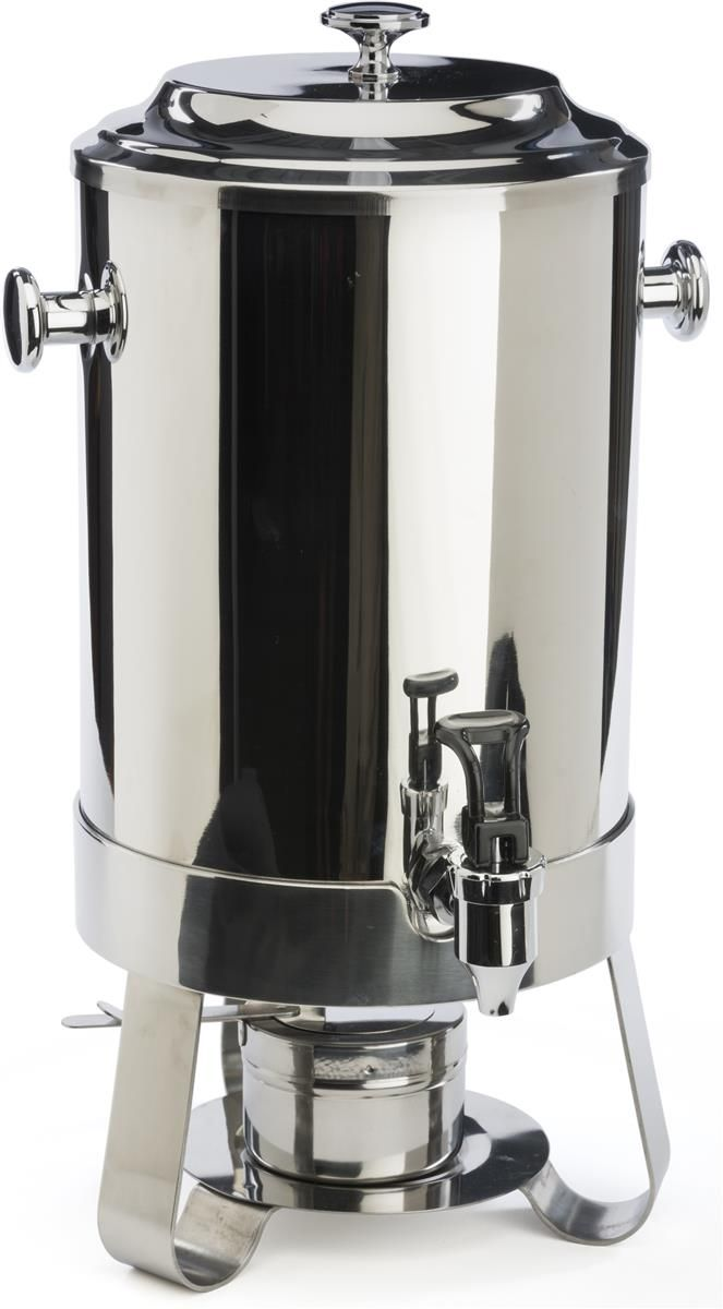 2 9 Gallon Stainless Steel Coffee Urn W Chafer Fuel Container