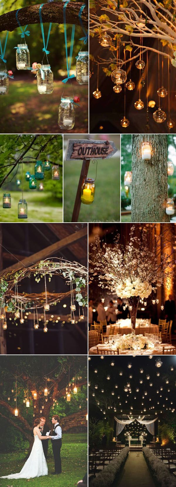 50+ Fancy Candlelight Ideas to Add Romance to Your Weddings ...