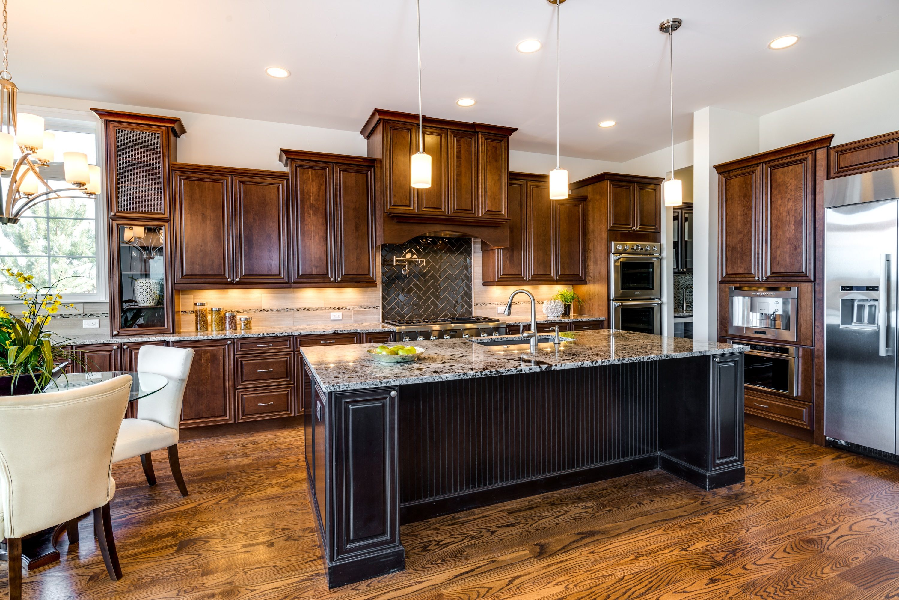 New Home Builders In Colorado Home Black Kitchen Island New Home Builders
