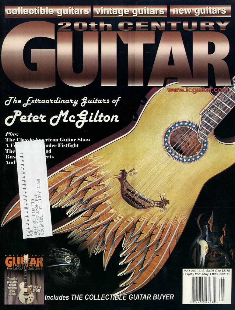20th Century Guitar May 2000 Magazine Back Issue Mjgenterprise 20th Century Guitar Century