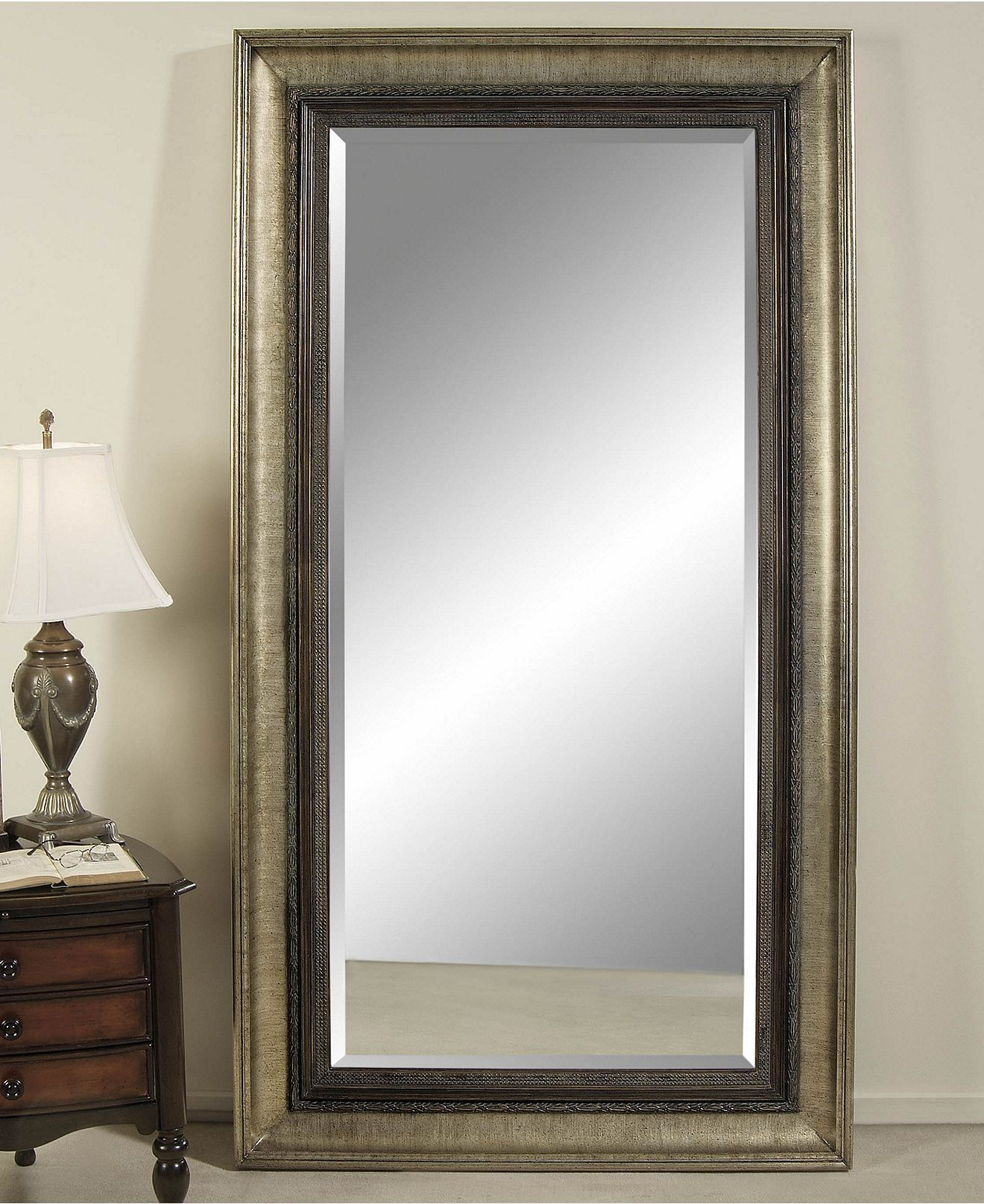 Rayna Floor Mirror Mirrors For The Home Macy S Mirror Wall
