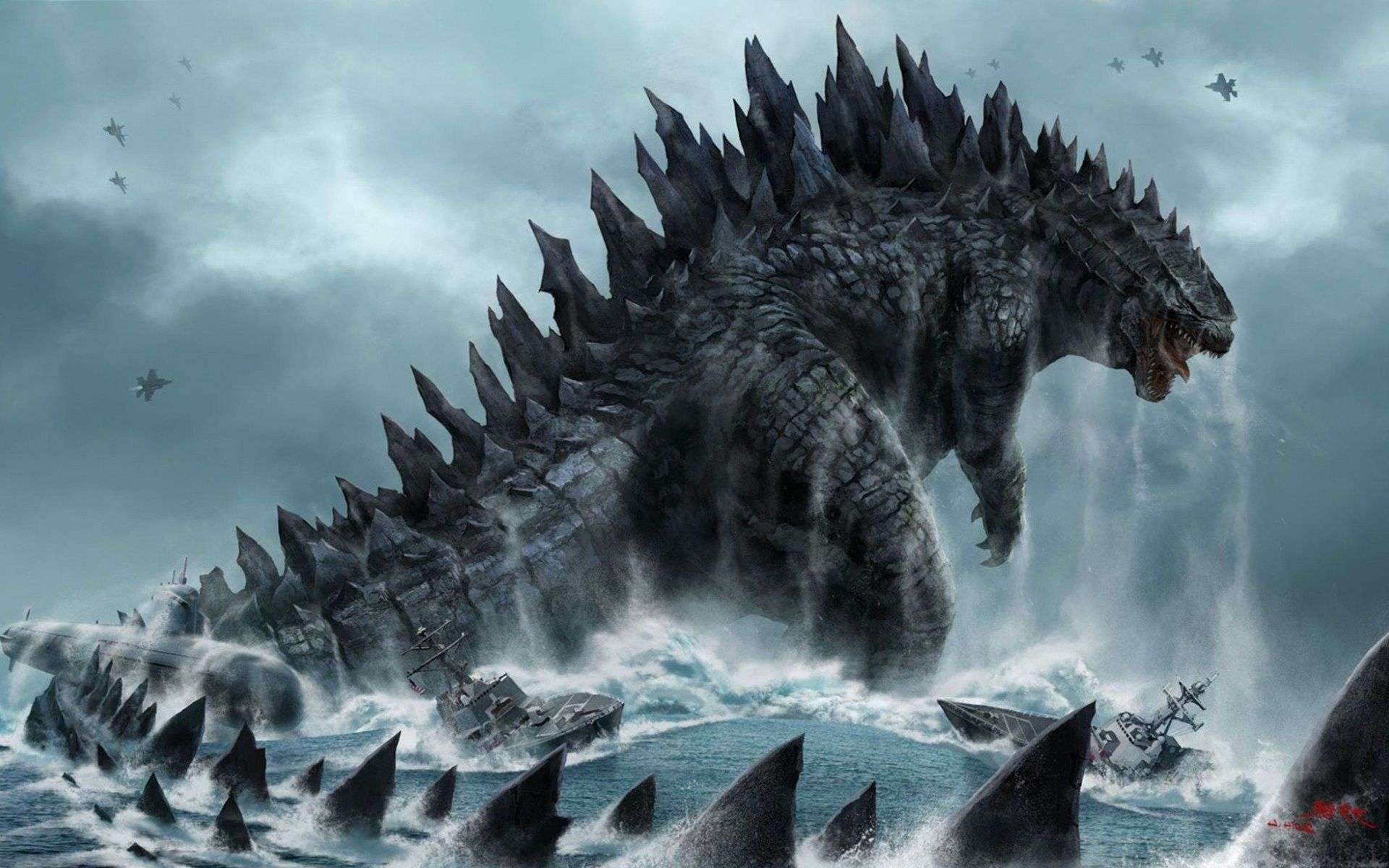 free download godzilla wallpapers Godzilla wallpaper