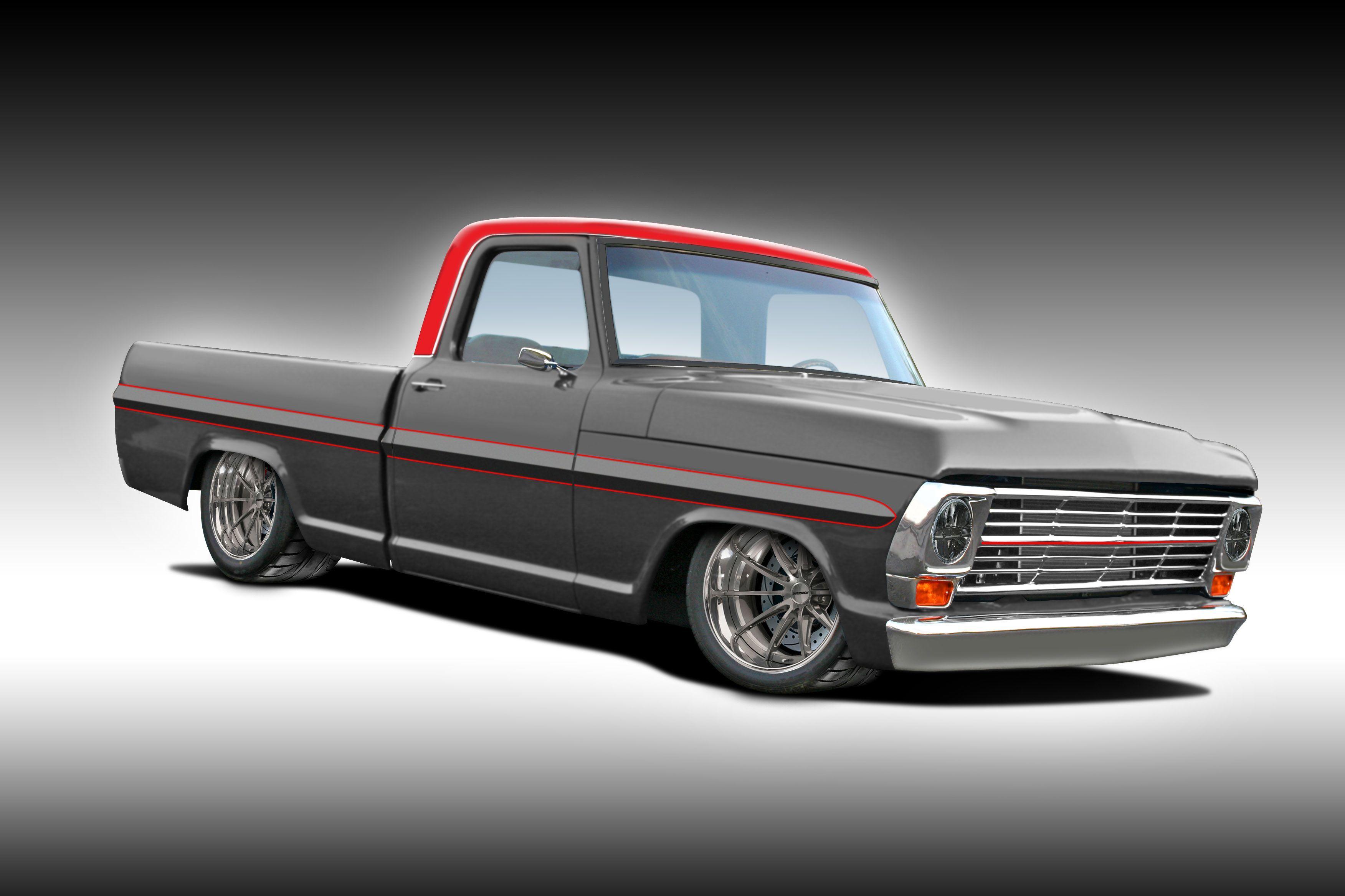 1967 ford f 100 custom pick up truck 460 big block c6 trucks pinterest ford ford trucks and cars