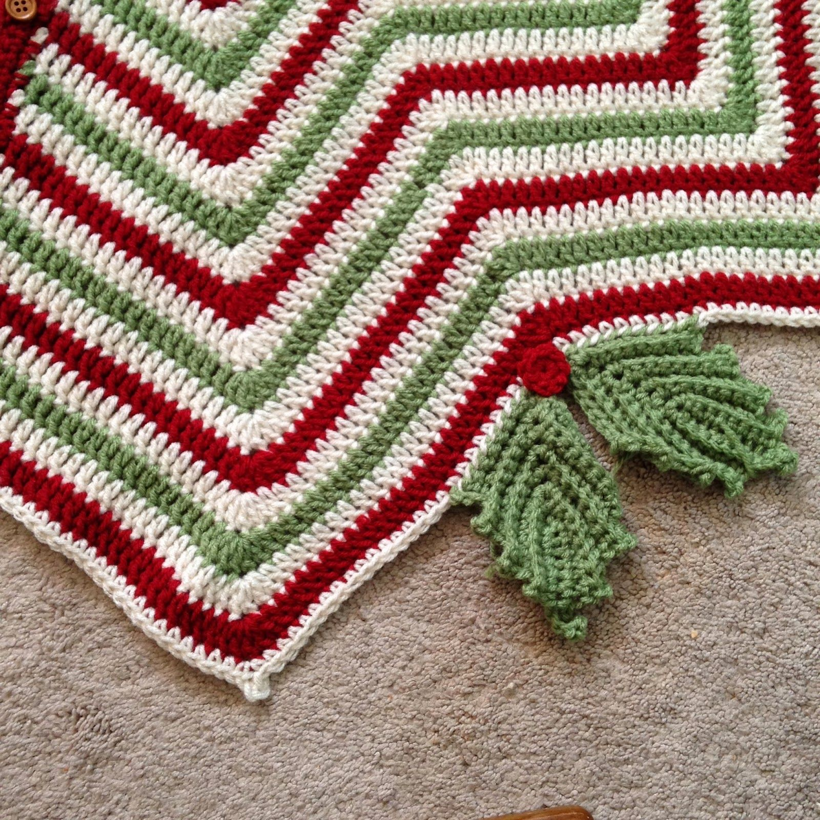 Christmas Tree Skirt | Tree skirts, Christmas tree and Crochet