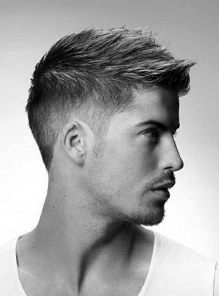 Mannerfrisuren glatte haare