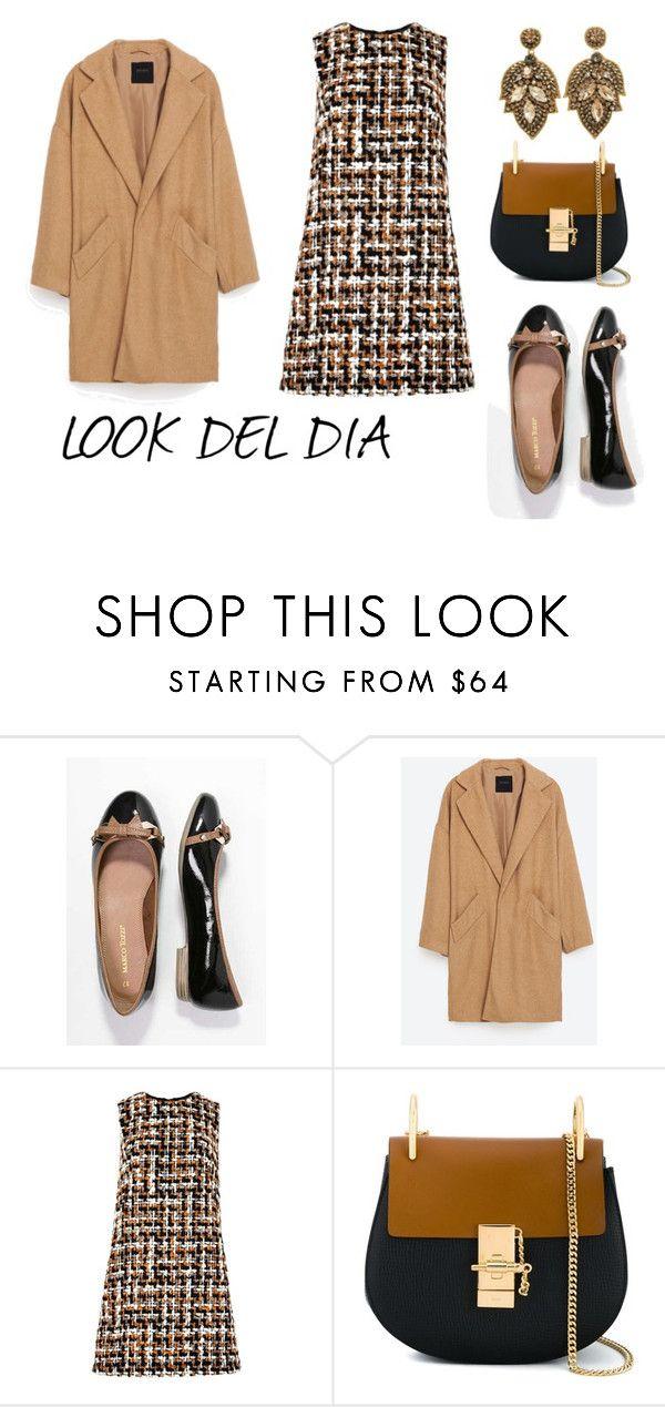 """""""LOOK DEL DIA"""" by aliciagorostiza on Polyvore featuring moda, Belgique, Dolce&Gabbana y Chloé"""