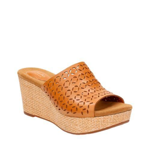 clarks artisan women's caslynn dylan wedge sandals