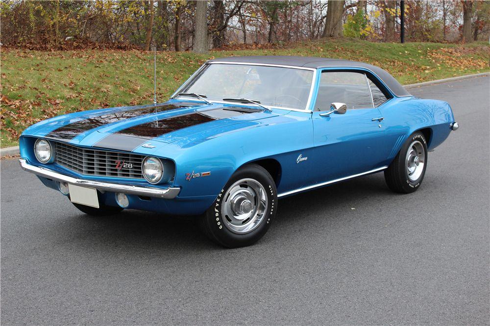 1969 CHEVROLET CAMARO Z/28  –  – Barrett-Jackson Auction Company – World's Greatest Collector Car Auctions