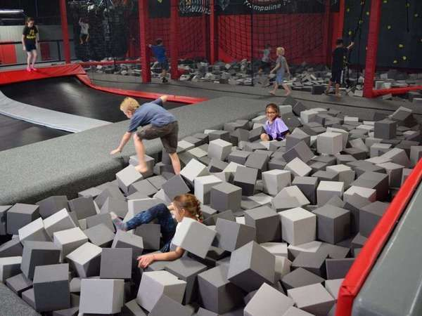 Jump Package For 2 Or 4 People Krazy Air Trampoline Park Trampoline Park Indoor Fun Trampoline