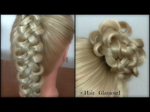 The Loop Dutchbraid Bun Hairstyles Hair Tutorial Hairglamour
