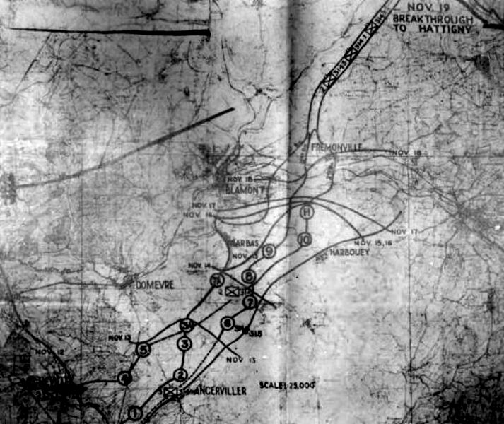 WWII Map.