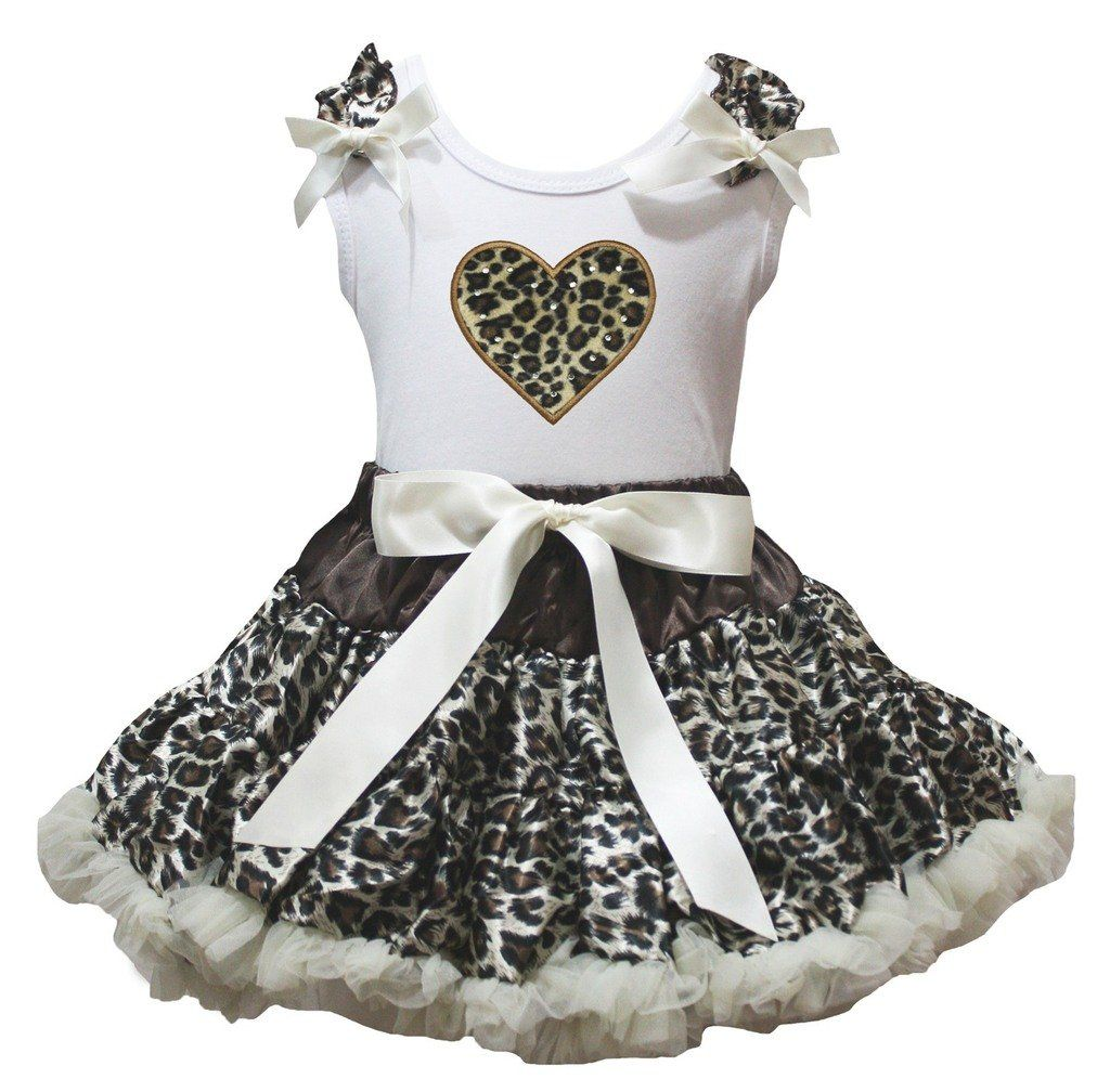 Petitebella My 3rd Birthday White Shirt Beige Hearts Skirt Outfit Set 1-8y