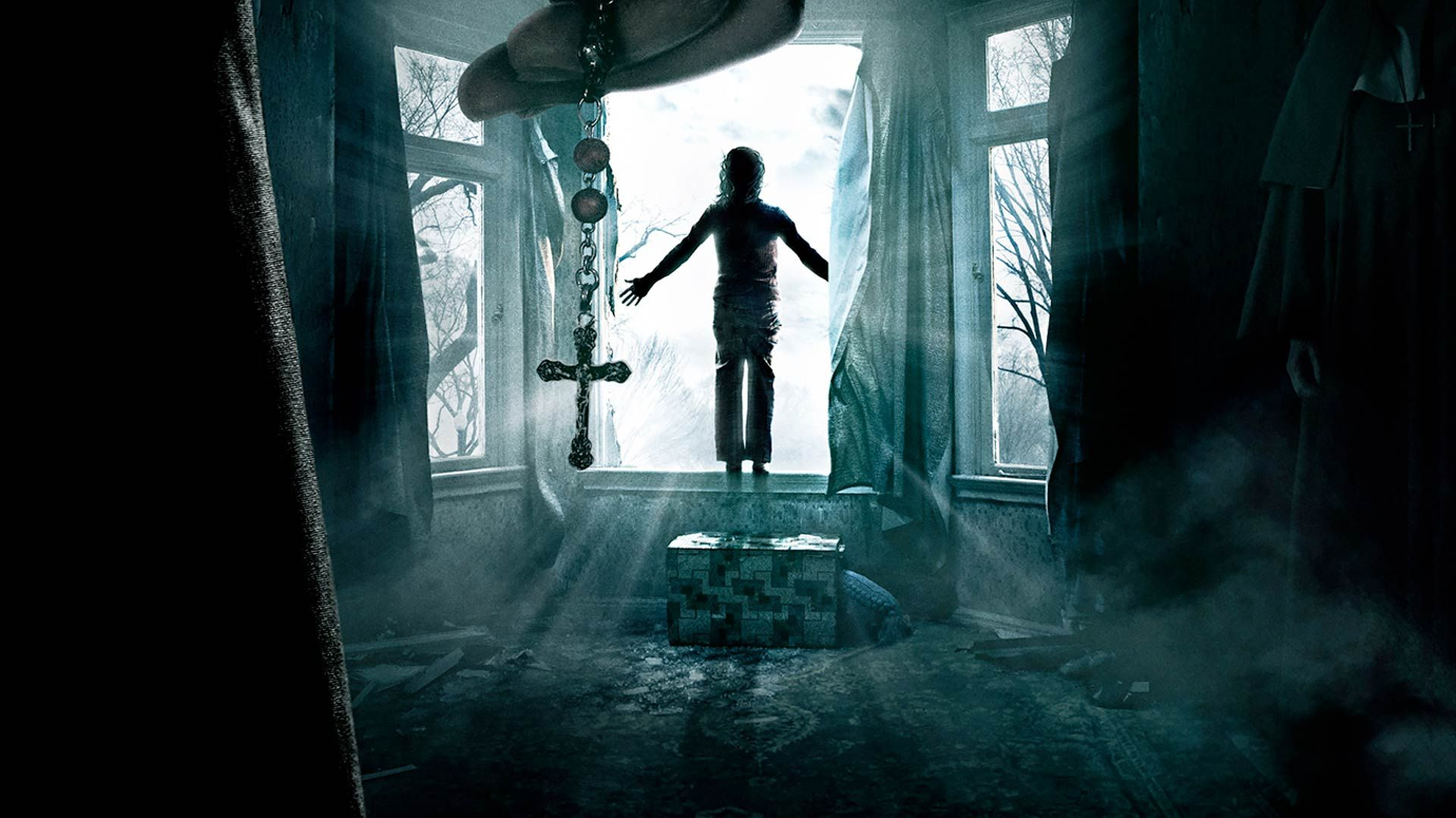 The Conjuring Horror Window Cross 109816 1920x1080 Jpg 1920 1080 The Conjuring Movie Wallpapers Horror Movies