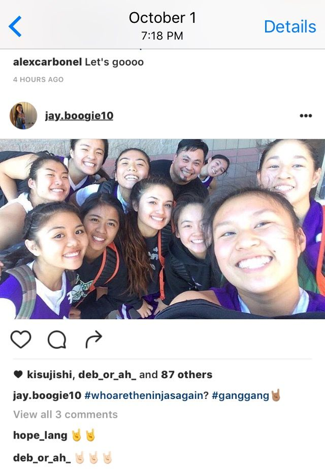 On October 1st, my team lost to a team we had never lost to before. After the game, our opponent posted this on their Instagram, leading to a lot of drama during the tournament weekend. I, however, avoided all the gossip and drama by not responding on social media. #ahimsa