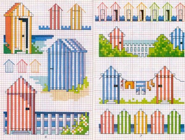 Schema punto croce idee mare cross stitch patterns for Idee punto croce neonati
