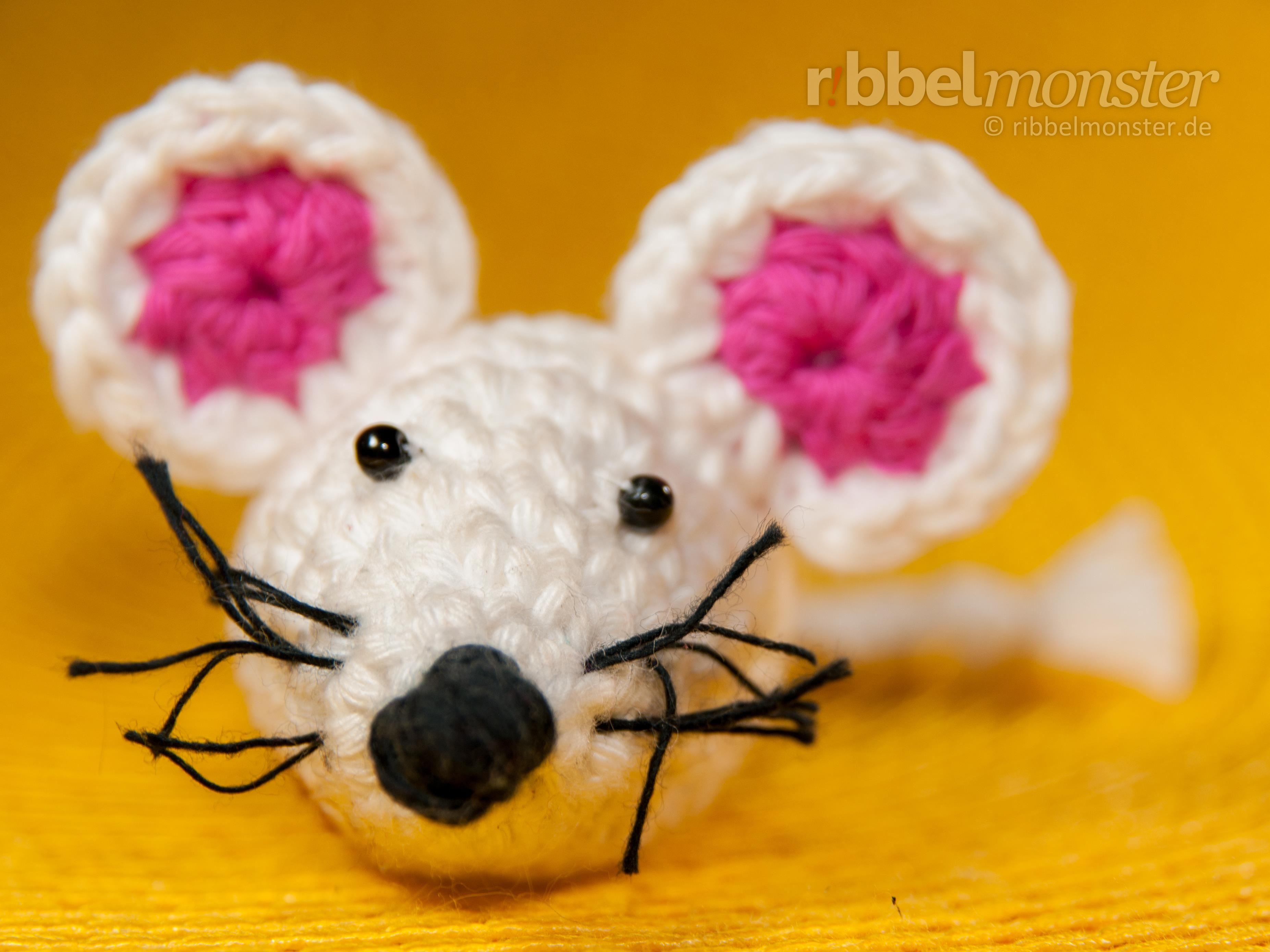 Die kleine Amigurumi Maus \