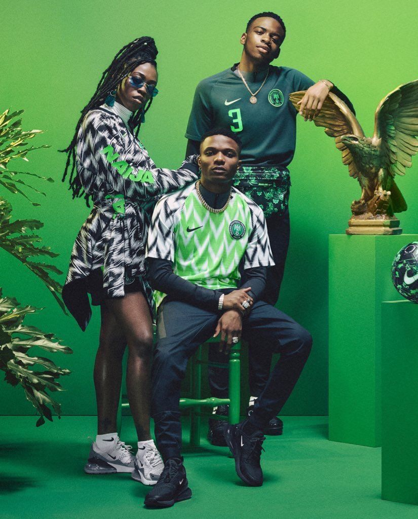 Nigeria S World Cup Kit Sells Out In 15 Minutes Football Fashion Jersey Outfit Jackets Men Fashion