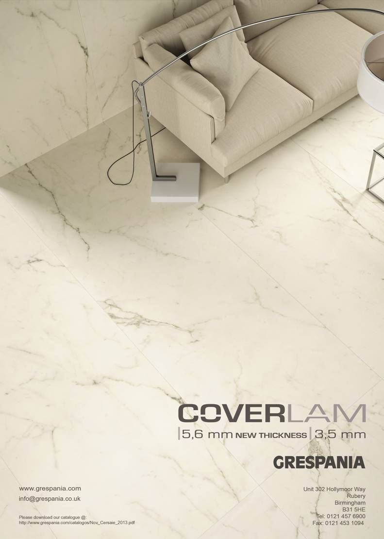 Our Fantastic Coverlam Range Is Advertised In This Months Tile Stone Journal Now Availa Interior Design And Construction Inspiration Wall Large Format Tile