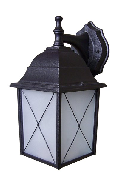 Whitfield Lighting Outdoor Light 1 Owl26 Bk Rona