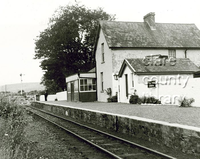 Corofin Railway Station County Clare Ireland I Dream Of Ireland