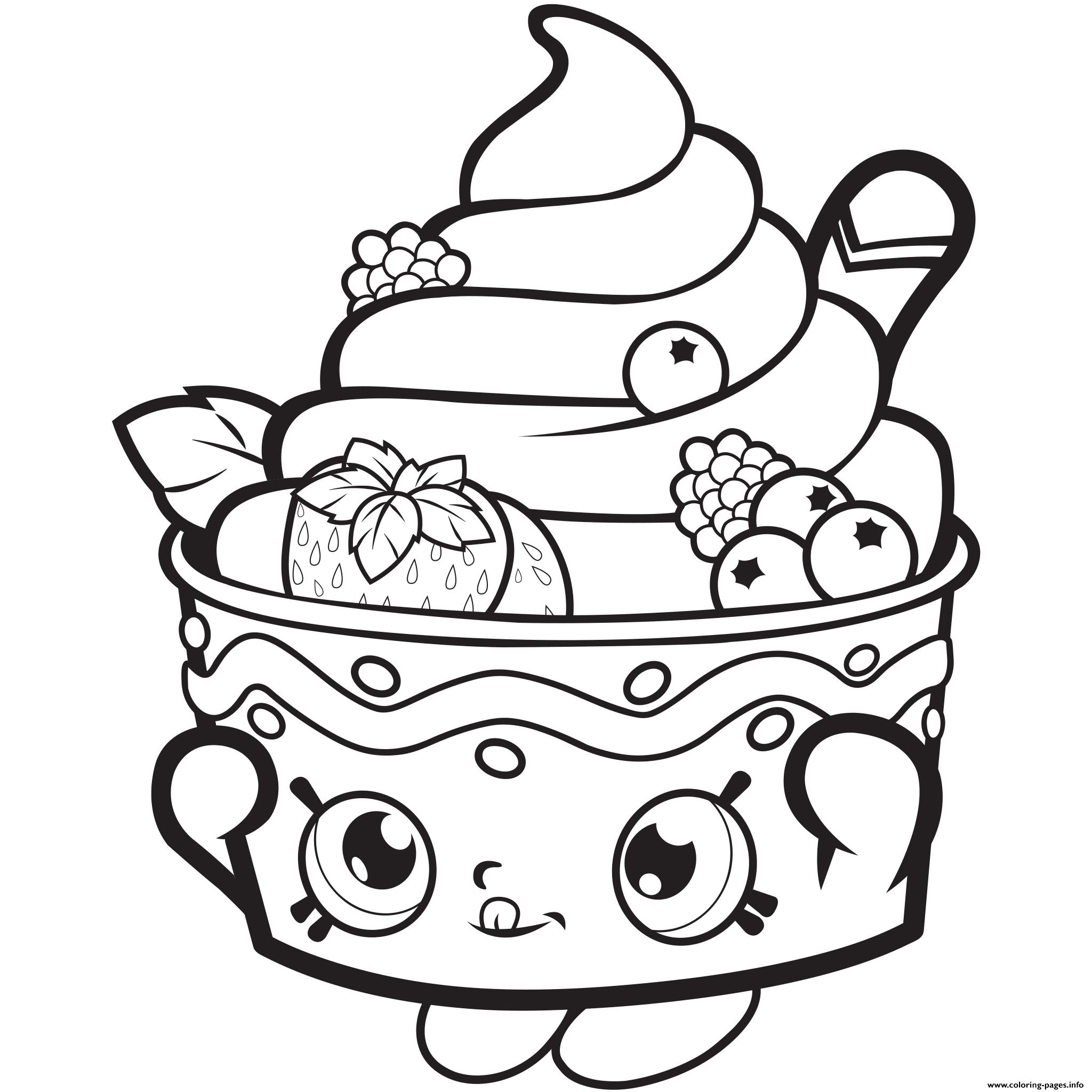 Shopkins coloring pages - Print Frozen Yo Chi Printable Shopkins Season 1 Season One Coloring Pages