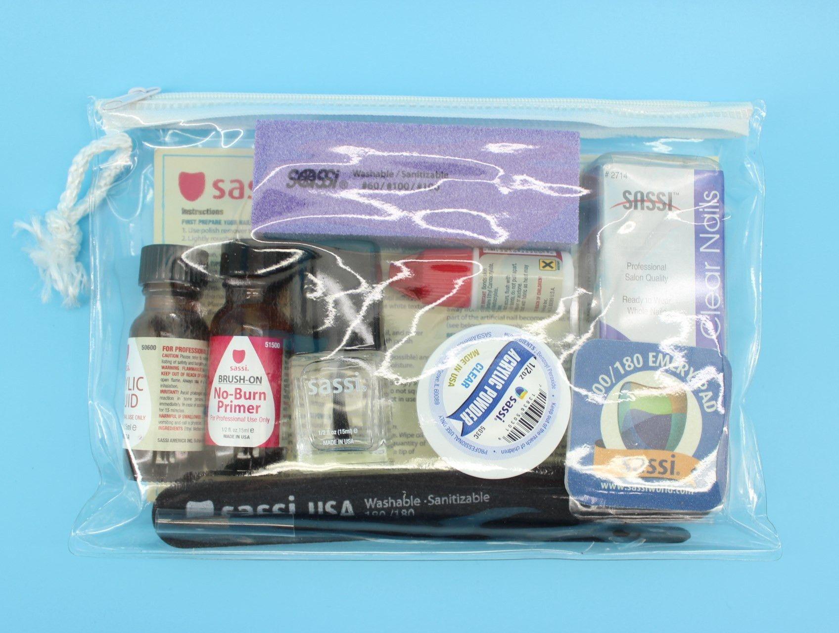 Sassi, Acrylic Nails Starter Kit   Acrylic nail starter kit and Products