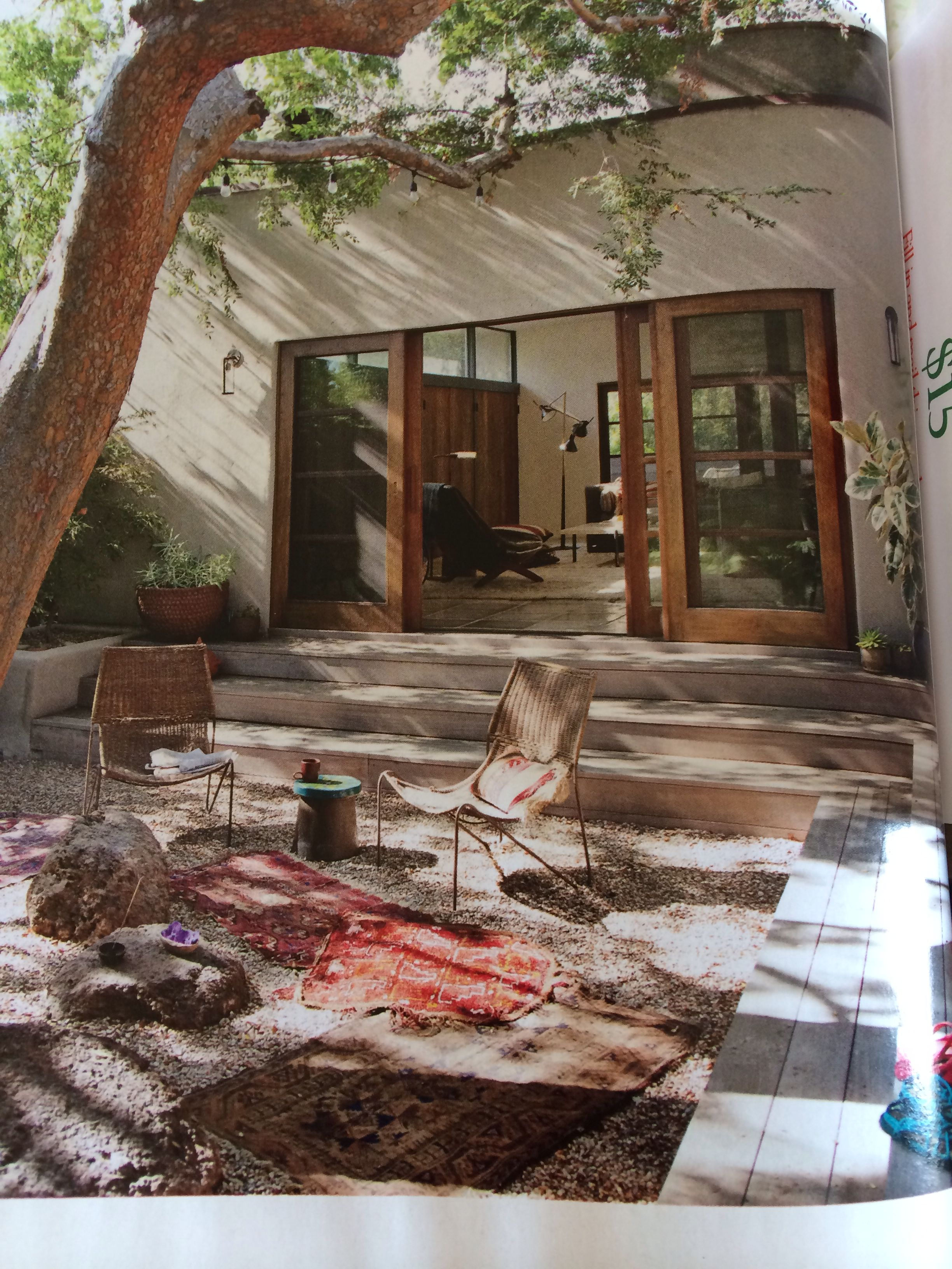 Surround Steps Seating Down To Patio With Images Landscape Design Patio Design