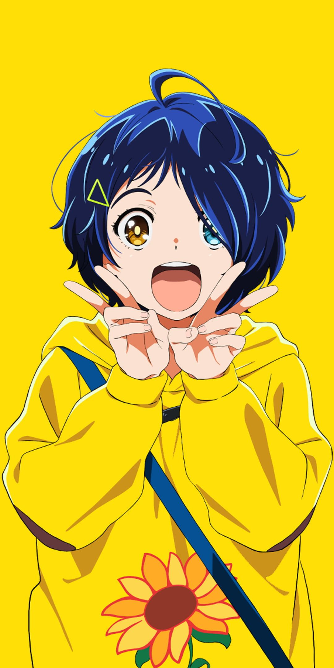 HD wallpaper: anime girls, wonder egg priority, Ai Ooto