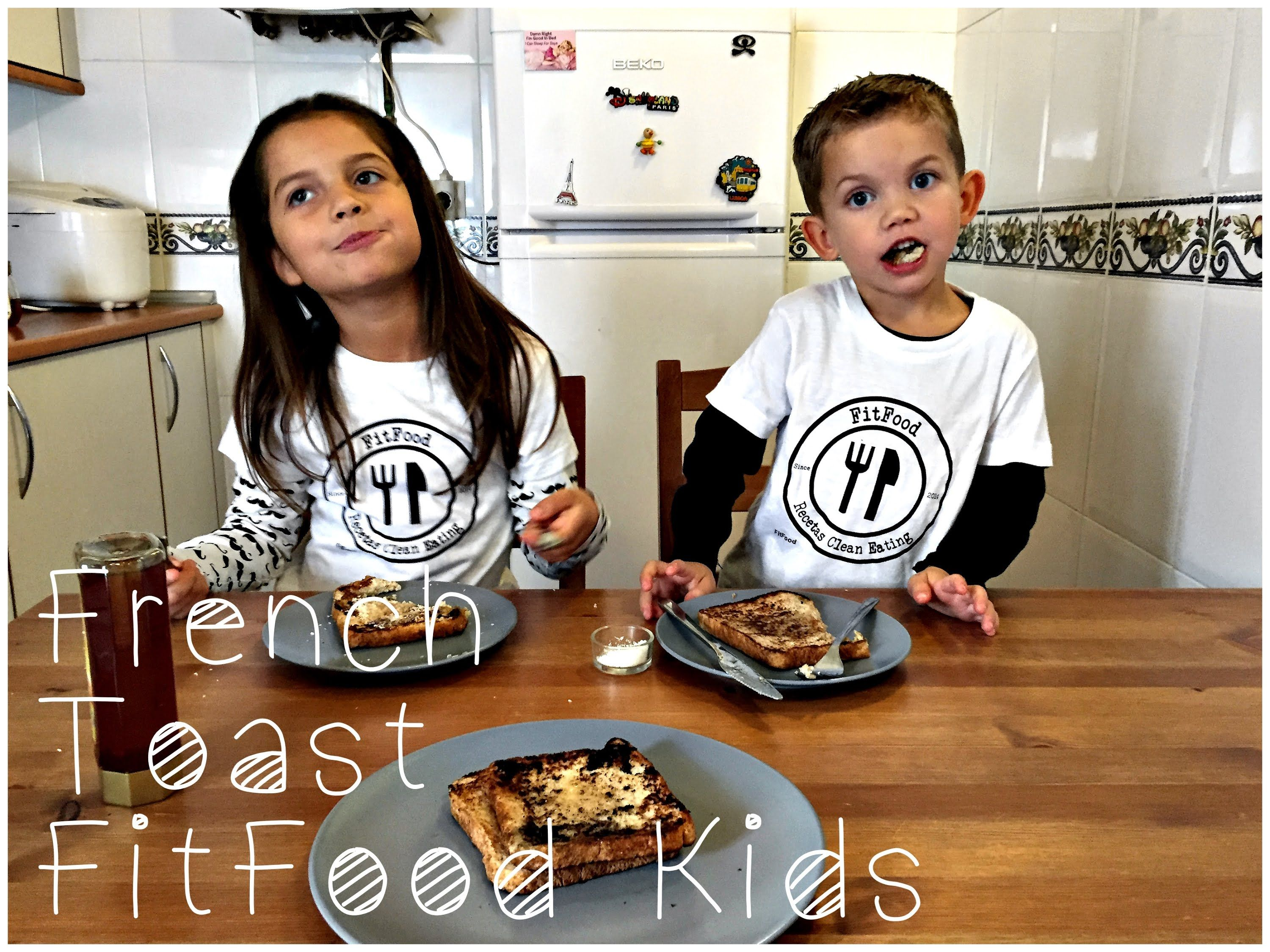 French Toast | Recetas Clean Eating | FitFood Kids