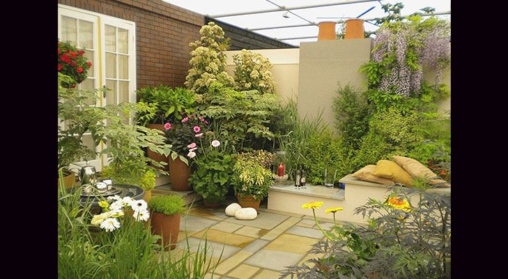 Tips For Terrace Garden | Terraced garden, Spaces and Kitchens