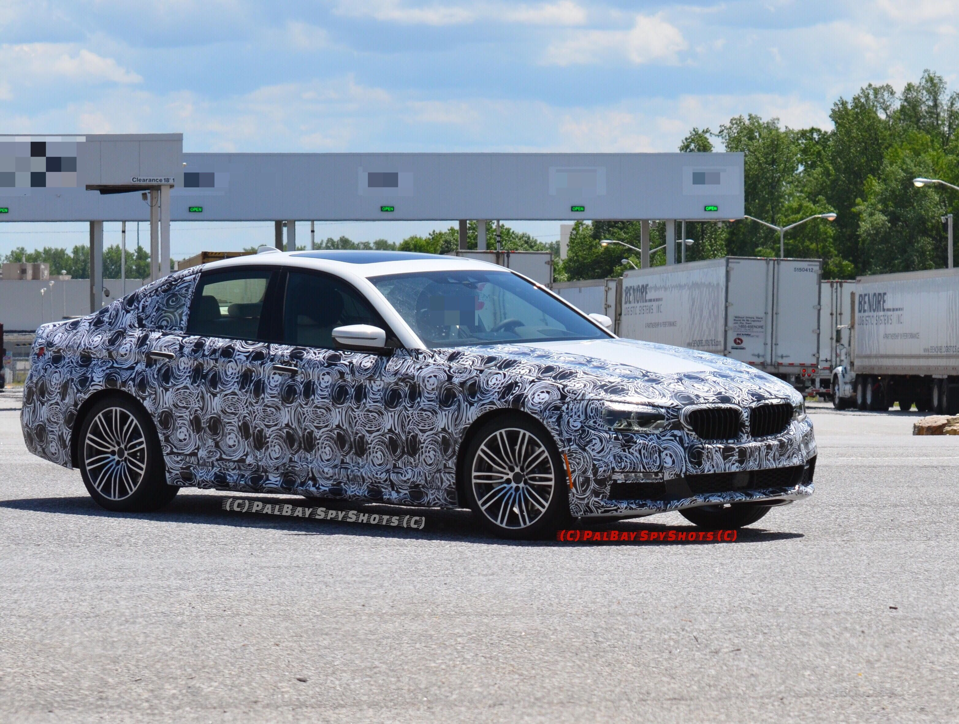 2017 BMW G30 5 Series M Sport Package spotted in South