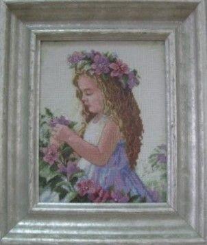 «Квітковий янгол». Автор Галина Захарівна Слинько