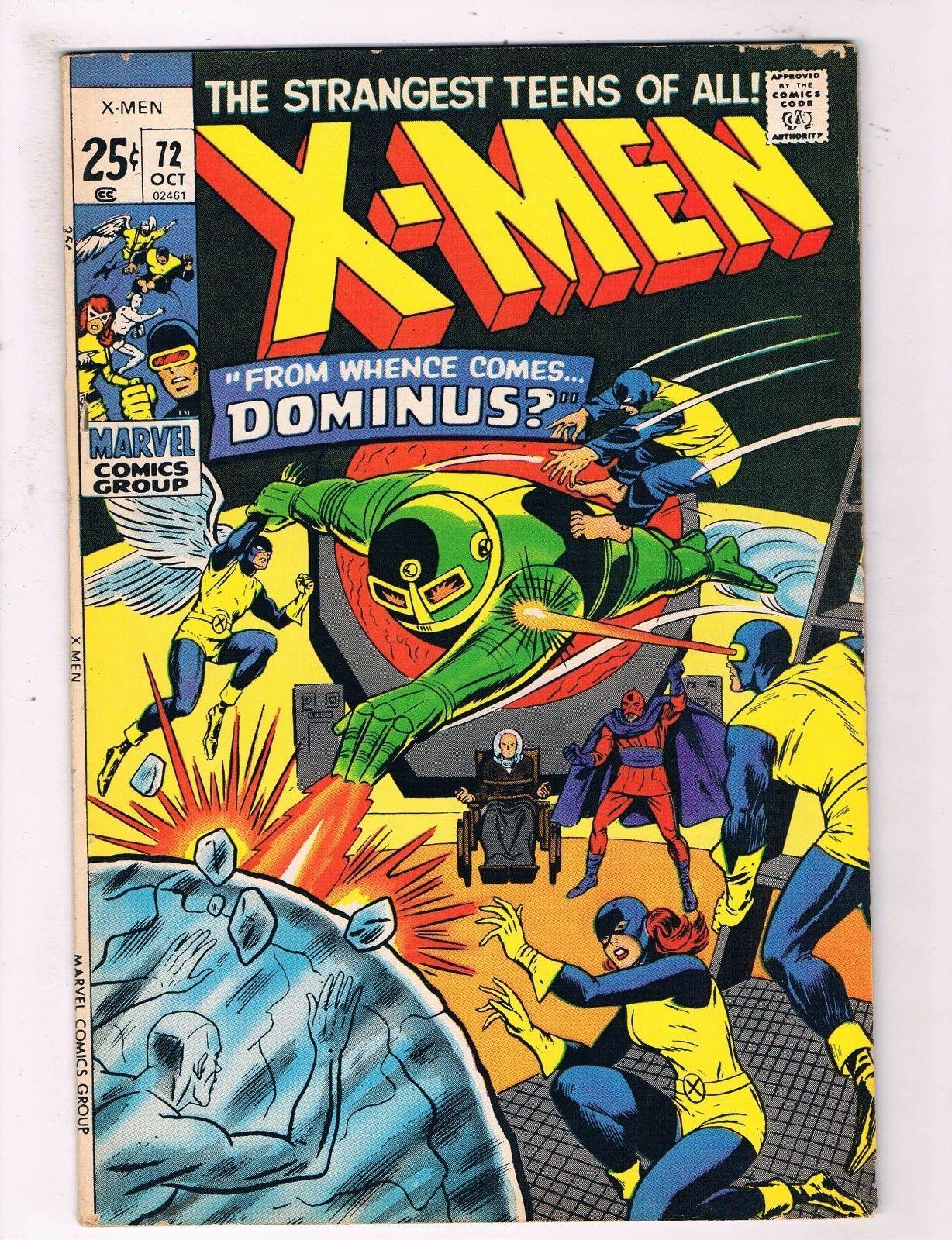 Uncanny x Men 72 FN Marvel Comic Book Canning Pedigree Collection D17 | eBay