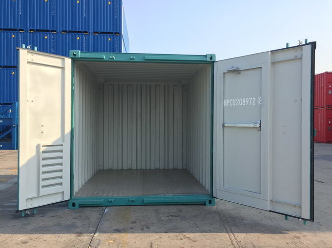 Offshore Small Shipping Containers With Man Door Dnv Standard 10 Foot Steel Floor In 2020 Shipping Container Small Shipping Containers Container Dimensions
