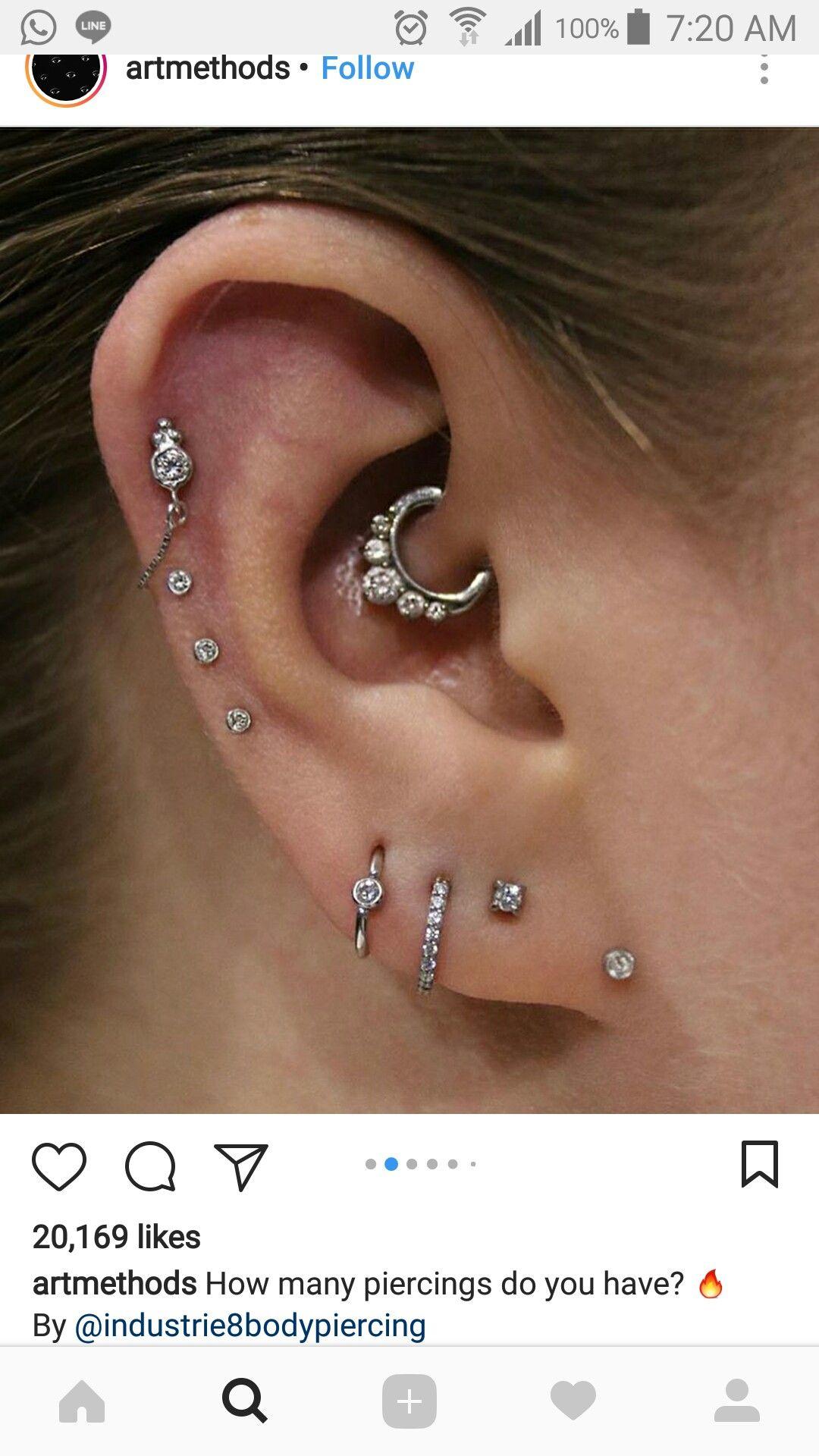 Nose piercing hoop vs stud  Pin by Cassandra Rionna Baer on Piercings  Pinterest  Piercings