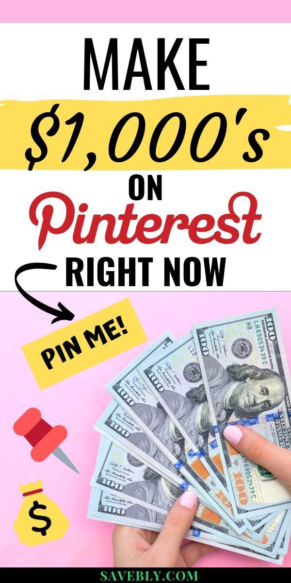 Wie man Geld auf Pinterest ohne Blog verdient