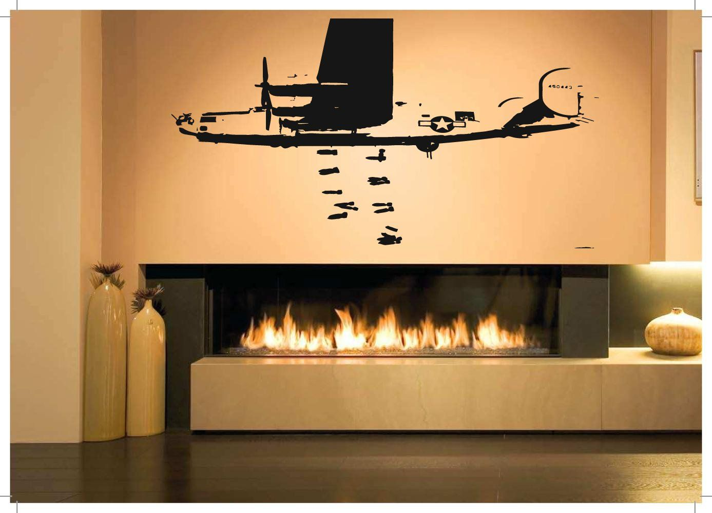 Colorful Plane Wall Decor Photo - All About Wallart - adelgazare.info