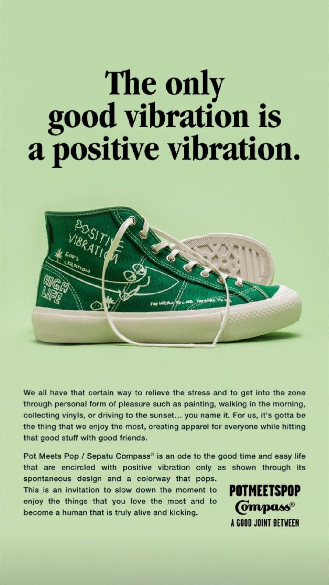 Sepatu Compass Design By Pmp Denim Di 2020