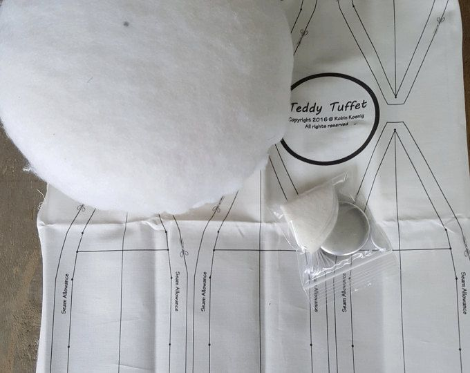 Tuffet Template Re Useable No More Fusible Perfect For