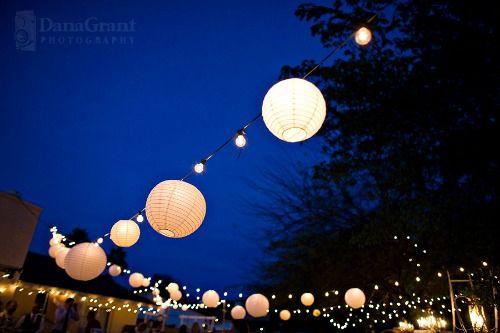 Photos de mariage en plein air sur pinterest images de for Guirlandes lumineuses exterieur guinguette