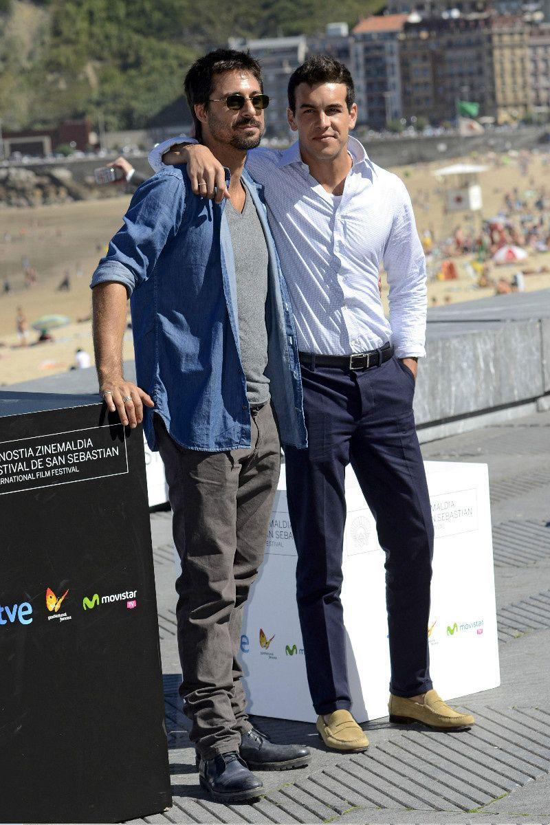 Hugo Silva y Mario Casas - Hugo Silva: 38 años en 38 imágenes