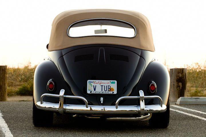 1965 Custom VW Beetle Convertible