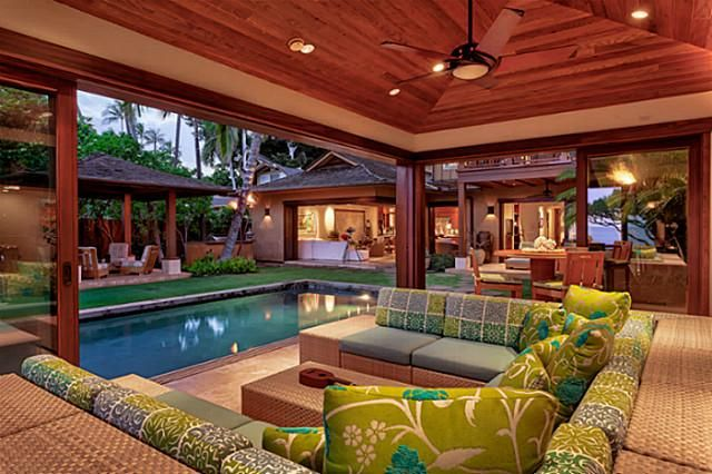 Beautiful Homes In Hawaii diamond head oceanfront luxury home offers oahu island living