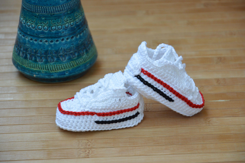 Crochet converse pattern, converse crochet shoes di HouseSneakers su ...