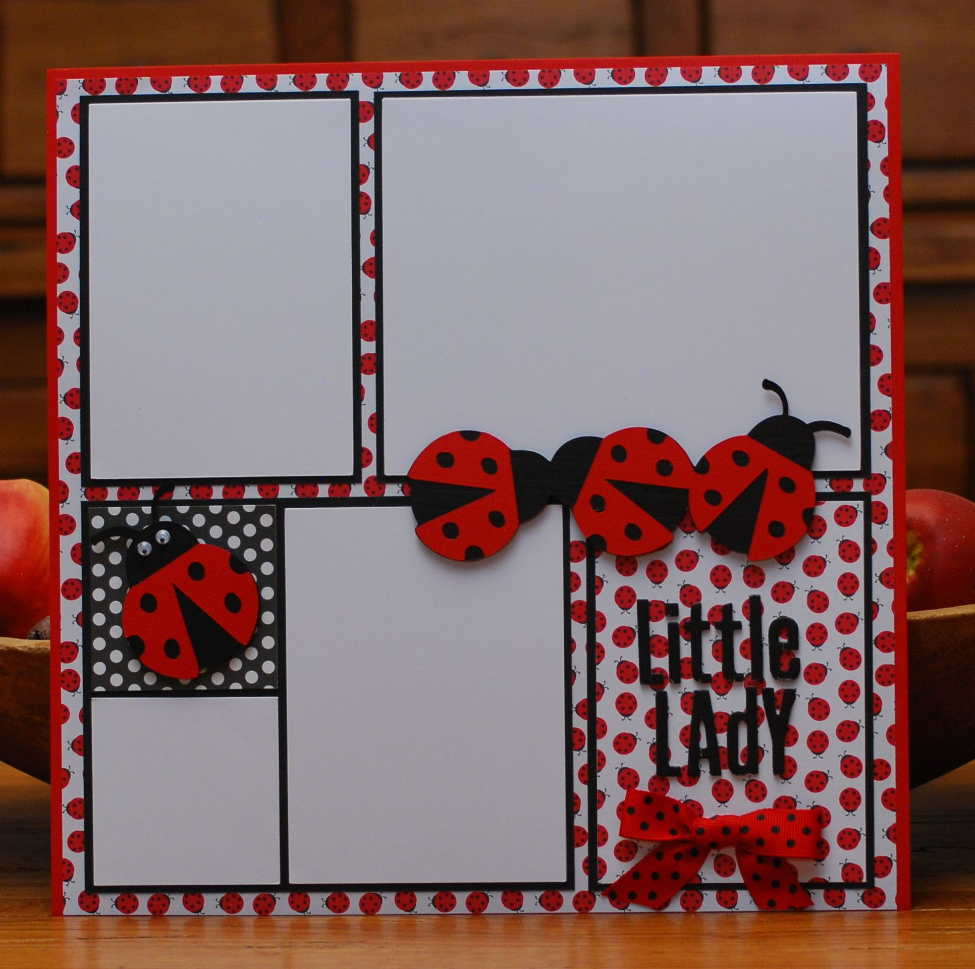 How to scrapbook a page