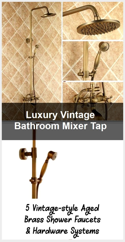 Photo of Luxus Vintage Badezimmer Mixer Tap, #Badroom #Luxury #Mixer #Tap #Vintage
