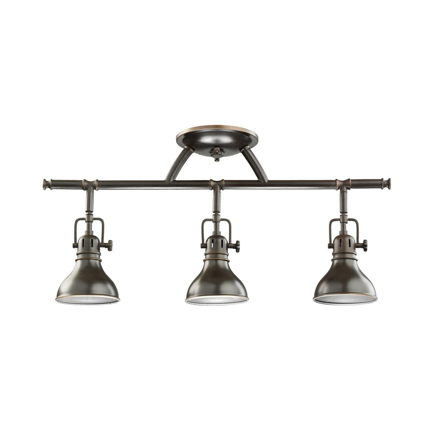track lighting kits light atg stores. Kichler Lighting 7050 Hatteras Bay™ 3 Light Rail Directional Spot | ATG Stores- Track Kits Atg Stores G