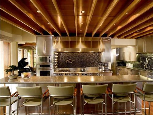 Gourmet Commercial Kitchen #homerenovation #calgary #kitchen For ...
