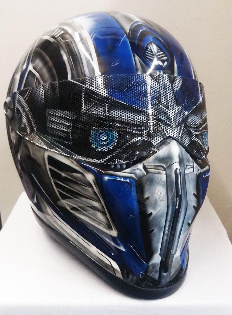 Prime Character Design Bandit Crystal Helmet (Stig Style